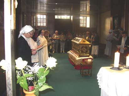 Les vêpres à la chapelle du Rosair